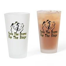 Save The Drama Pint Glass