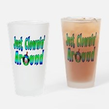 Clownin Around Pint Glass