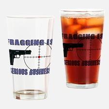 Serious Fragging Pint Glass
