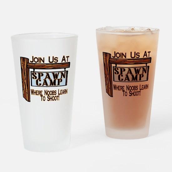 Spawn Camp Pint Glass