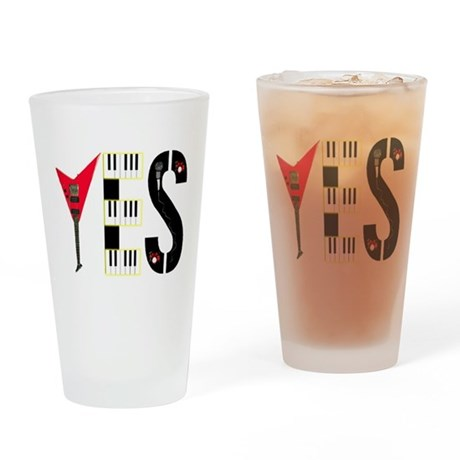 YES Pint Glass
