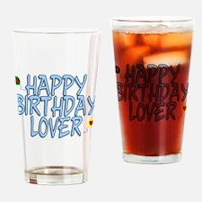 Happy Birthday Lover Pint Glass