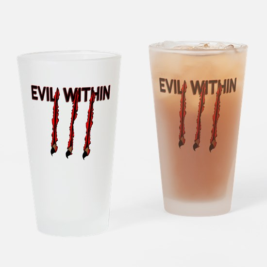 Evil Within Pint Glass