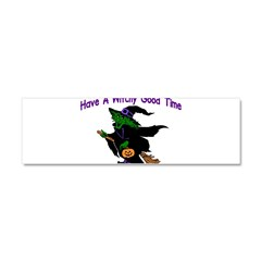 Witchy Time Car Magnet 10 x 3
