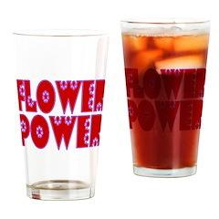 Flower Power Pint Glass