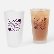 I Love Myself Pint Glass