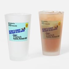 Cancer No More Pint Glass