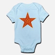 Red Kremlin Star Infant Bodysuit