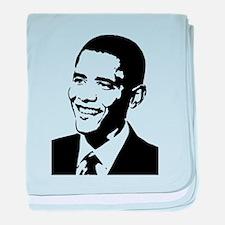 Barack Obama Stencil baby blanket