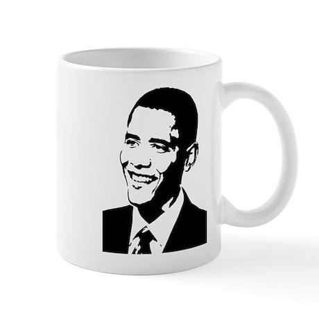 Barack Obama Stencil Mug
