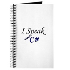 """I Speak Visual C#"" Journal"