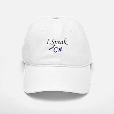 """I Speak Visual C#"" Baseball Baseball Cap"