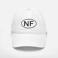 NF - Initial Oval Baseball Baseball Cap
