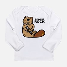 Beavers Rock Long Sleeve Infant T-Shirt