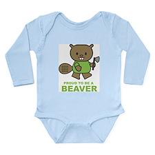 Proud To Be A Beaver Onesie Romper Suit