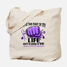Fight Of My Life Hodgkin's Lymphoma Tote Bag