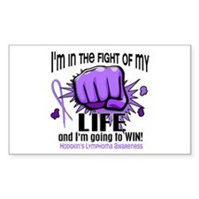 Fight Of My Life Hodgkin's Lymphoma Decal