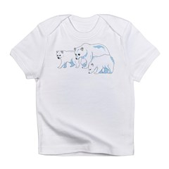Polar Bear Family Infant T-Shirt