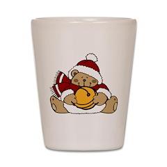 Christmas Bear Shot Glass