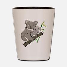Koala Bear Shot Glass