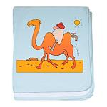 Funny Camel baby blanket