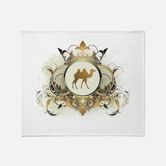 Stylish Camel Throw Blanket