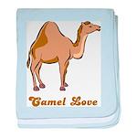 Camel Love baby blanket