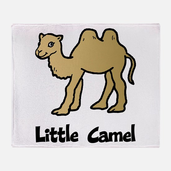 Little Camel Throw Blanket