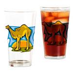 Camel Pint Glass