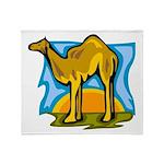Camel Throw Blanket