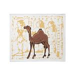 Egyptian Camel Throw Blanket