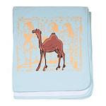 Egyptian Camel baby blanket