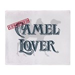 Camel Lover Throw Blanket