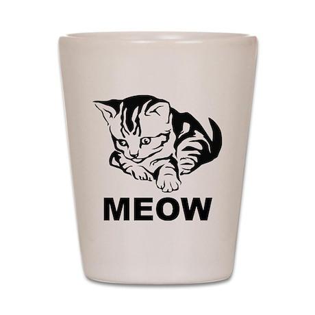 Meow Cat Shot Glass