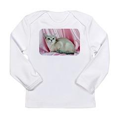 Cat Long Sleeve Infant T-Shirt