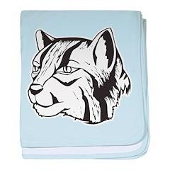 Cat baby blanket