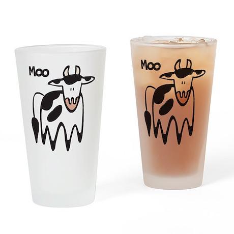 Moo Cow Pint Glass