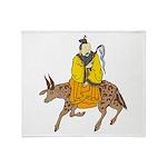 Chinese Mythology - Cow Throw Blanket