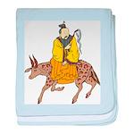 Chinese Mythology - Cow baby blanket