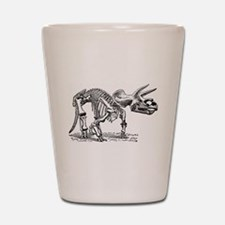 Triceratops Skeleton Shot Glass