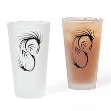 Tribal Dragon Pint Glass
