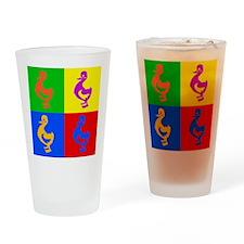 Pop Art Duck Pint Glass