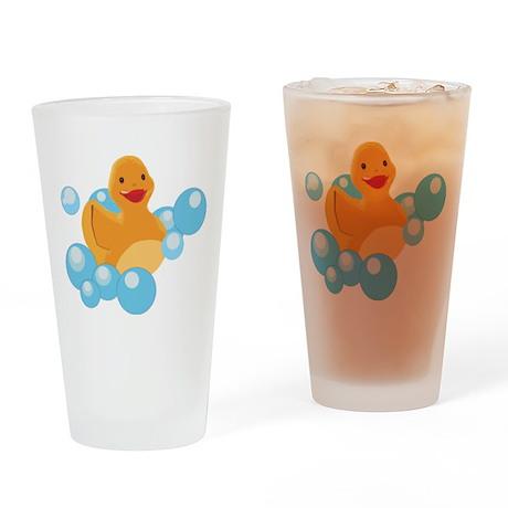 Rubber Duck Pint Glass