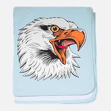 Eagle baby blanket