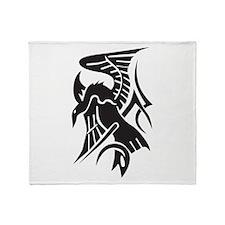 Tattoo Eagle Throw Blanket