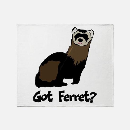 Got Ferret? Throw Blanket