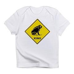 Frog Crossing Infant T-Shirt