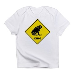 Frog Crossing Infant T-Shirt