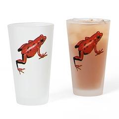 Poison Arrow Frog Pint Glass