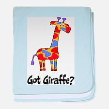 Got Giraffe? baby blanket
